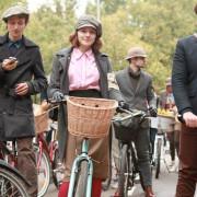 Tweed Ride a Crespi d'Adda: un successo da ripetere