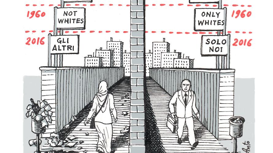 Il Muro della Razza