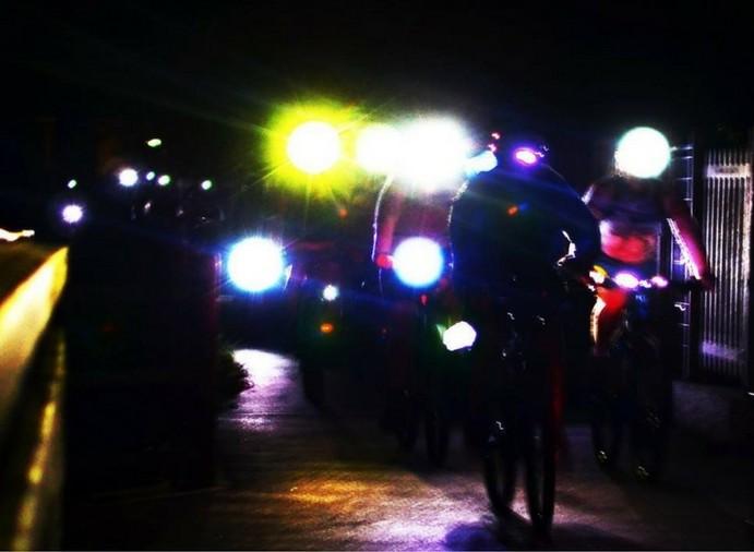 (Italiano) Biciclettata Notturna: tra fiume Adda e Naviglio Martesana.